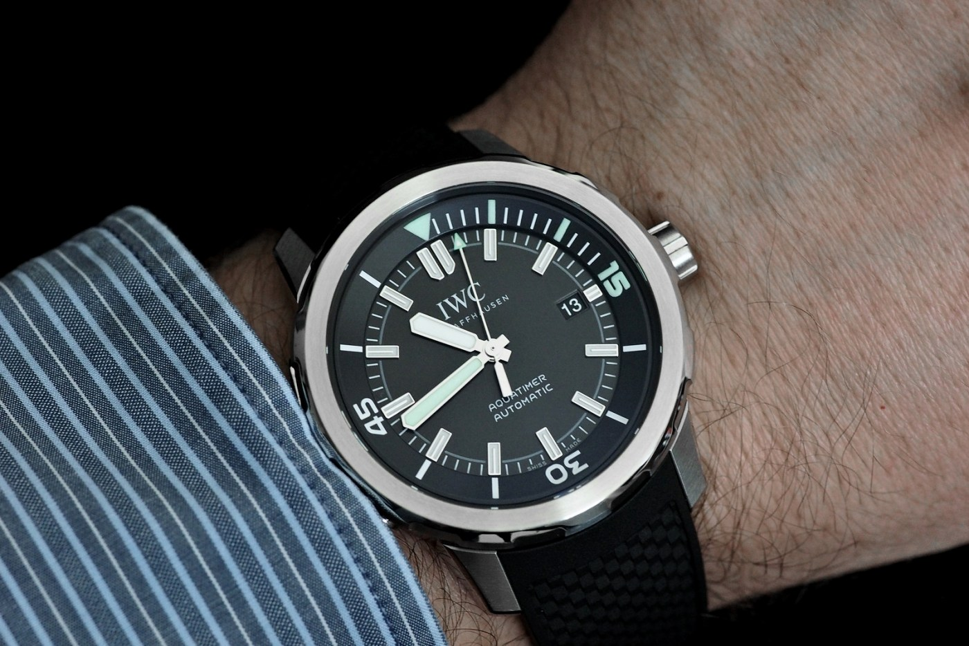 IWC Aquatimer Automatic Ref. 3920 wristshot