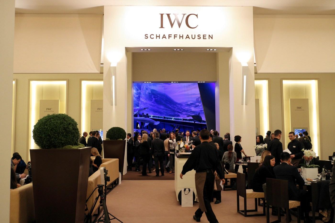 IWC Schaffhausen booth SIHH 2014