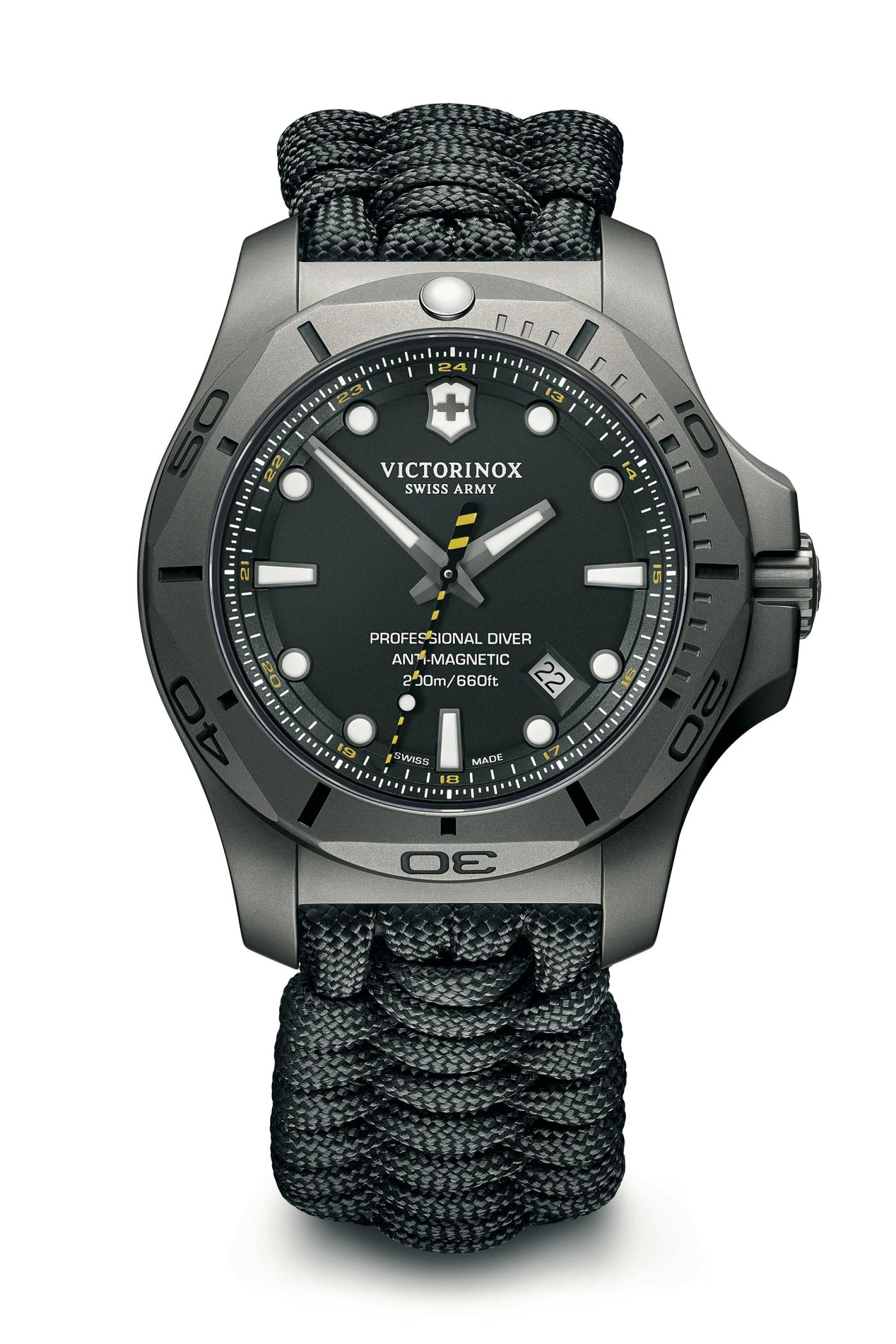 Victorinox INOX Professional Diver Titanium paracord