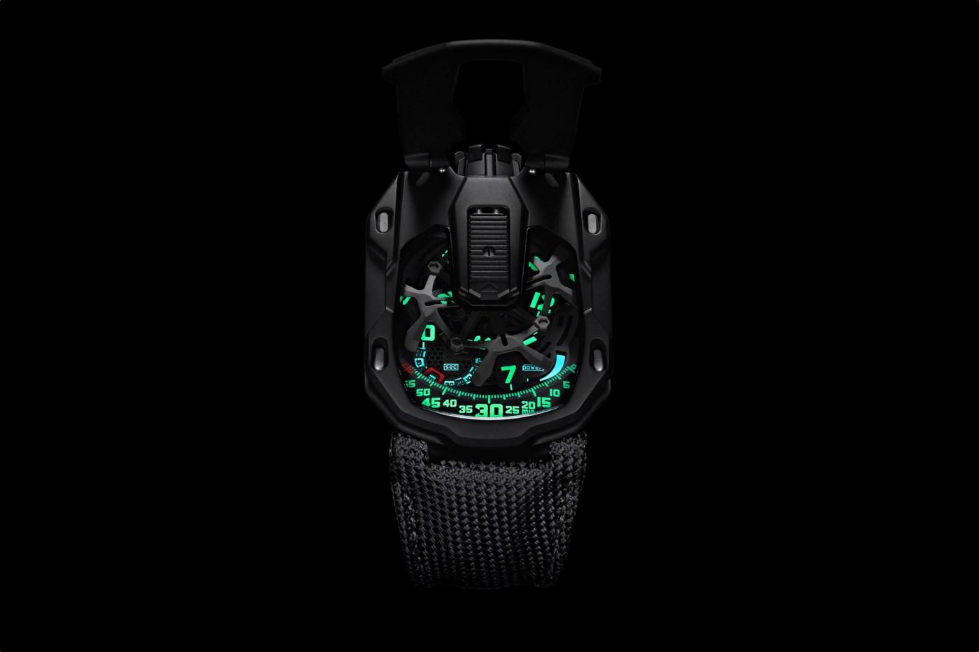 Urwerk Kryptonite UR-105CT