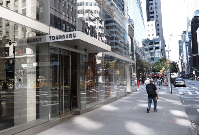 Tourneau store on Madison Ave and 53rd
