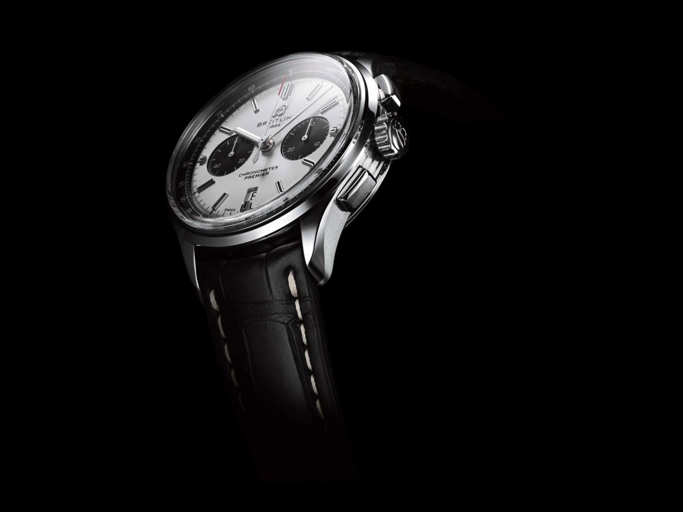 Breitling Premier B01 Chronograph 42 silver dial