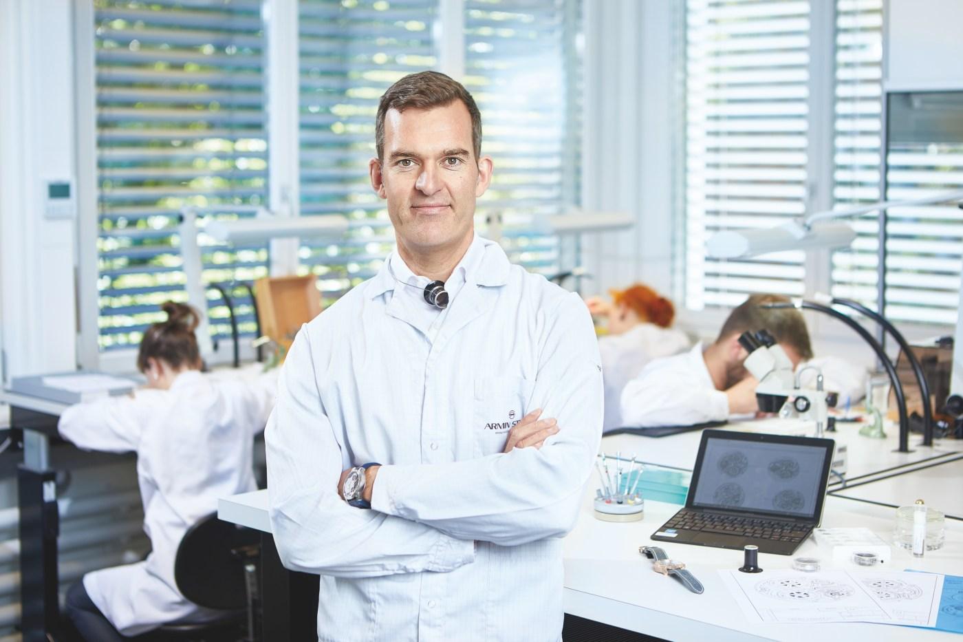 Claude Greisler, Co-Founder, Head Watchmaker