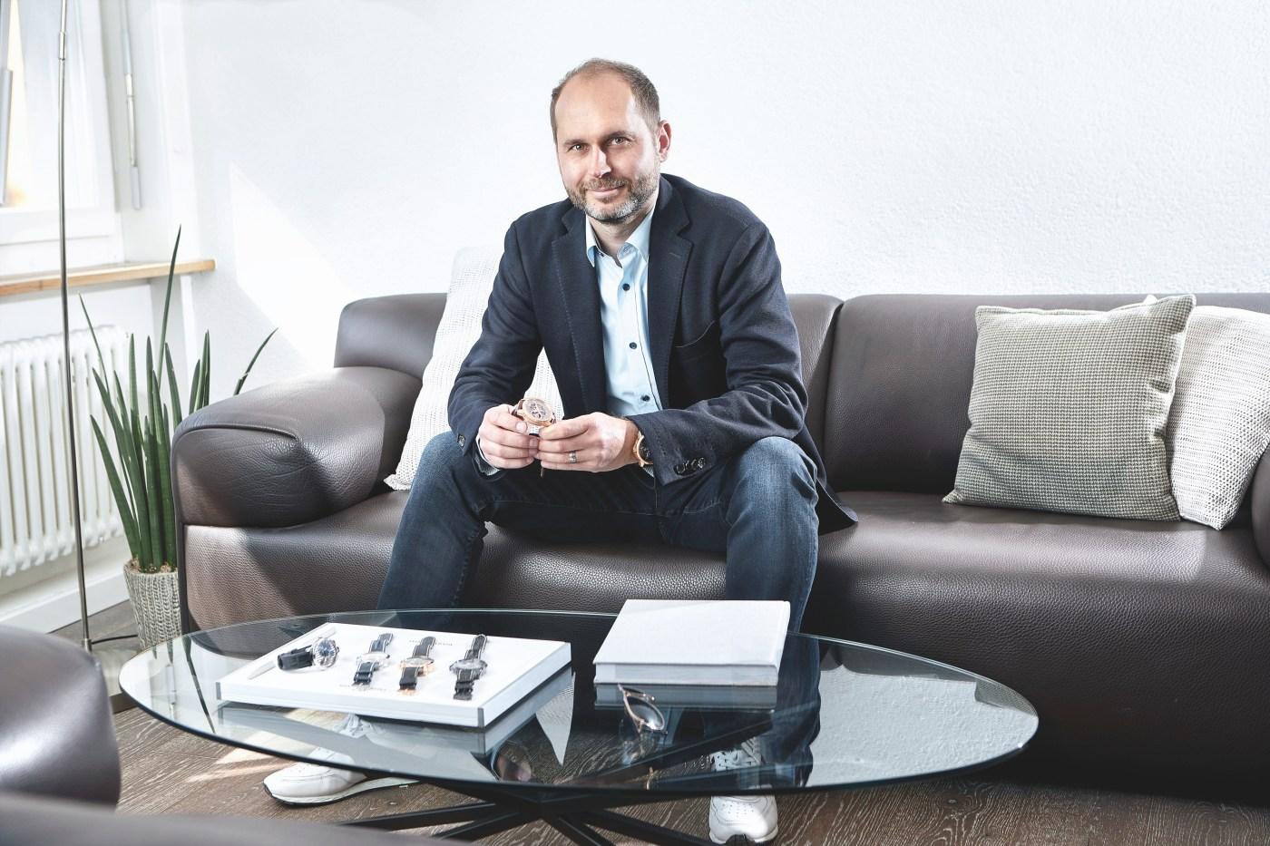 Serge Michel, Founder