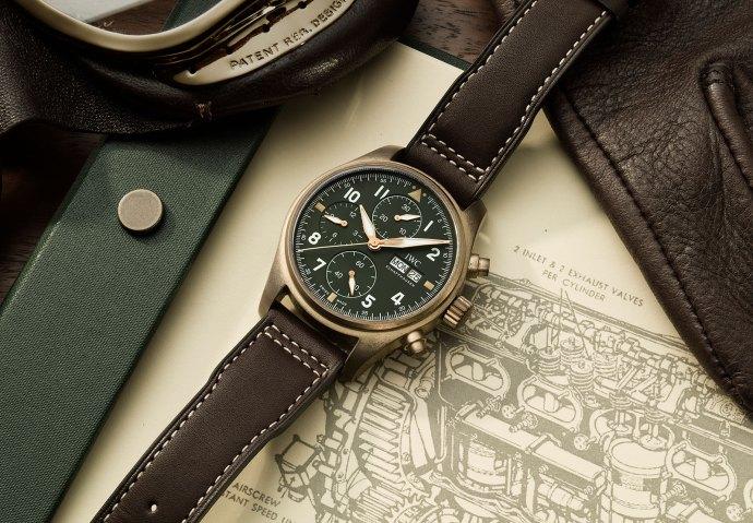 IWC Pilot Chronograph Spitfire Bronze