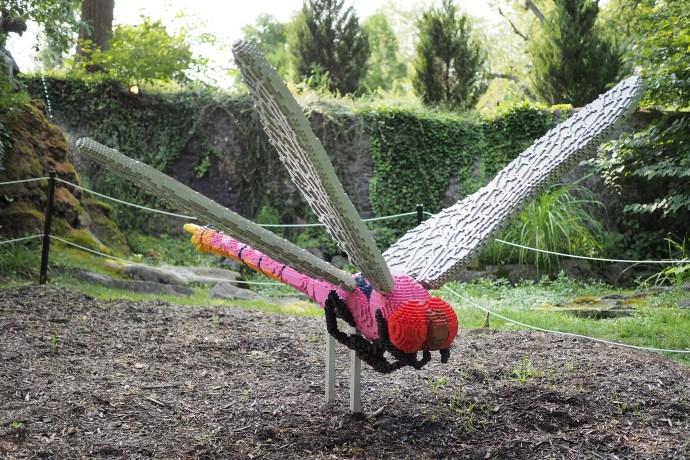 Sean Kenney Dragonfly Lego Sculpture