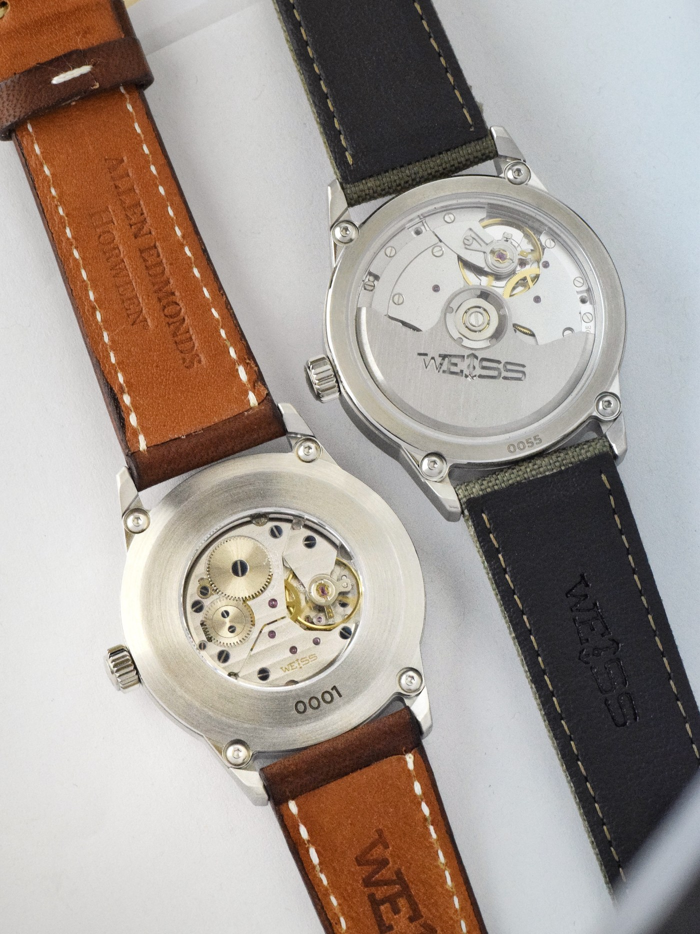 Weiss 38 mm Special Issue Manual vs. 38 mm Automatic Issue Field Watch