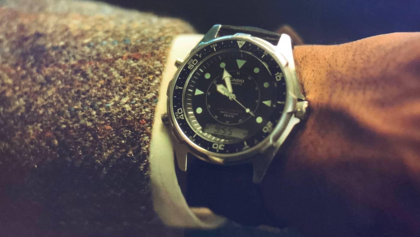 Mahershala Ali's wristwatch in True Detective Season 3