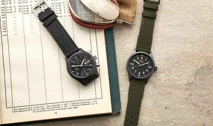 """Pilot's Watch Mark XVIII Edition """"Hodinkee"""" and reference 3705 Fliegerchronograph"""