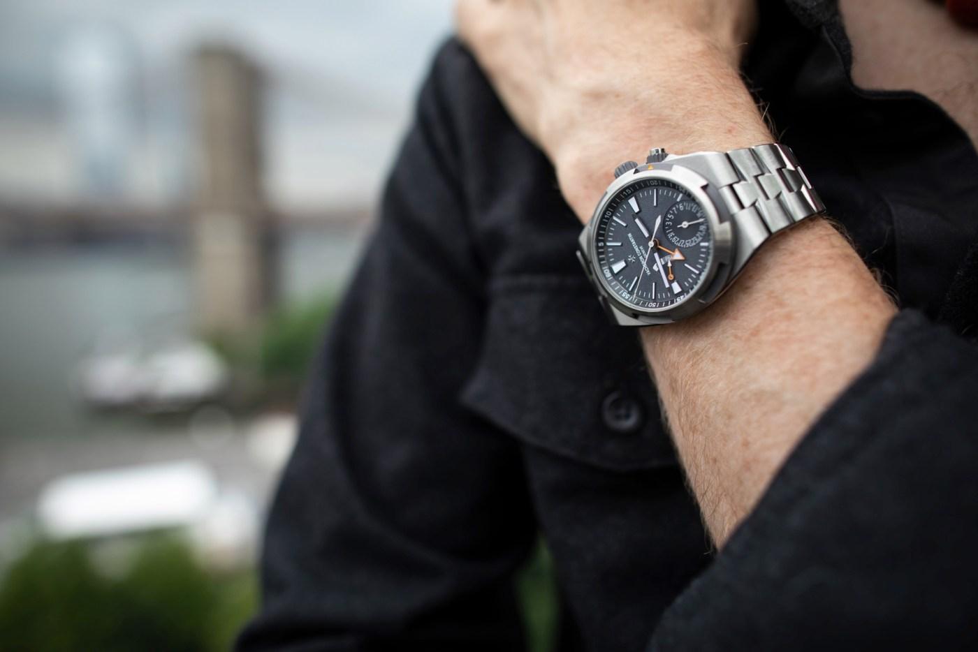 Overseas Dual Time Prototype Cory Richard wristshot