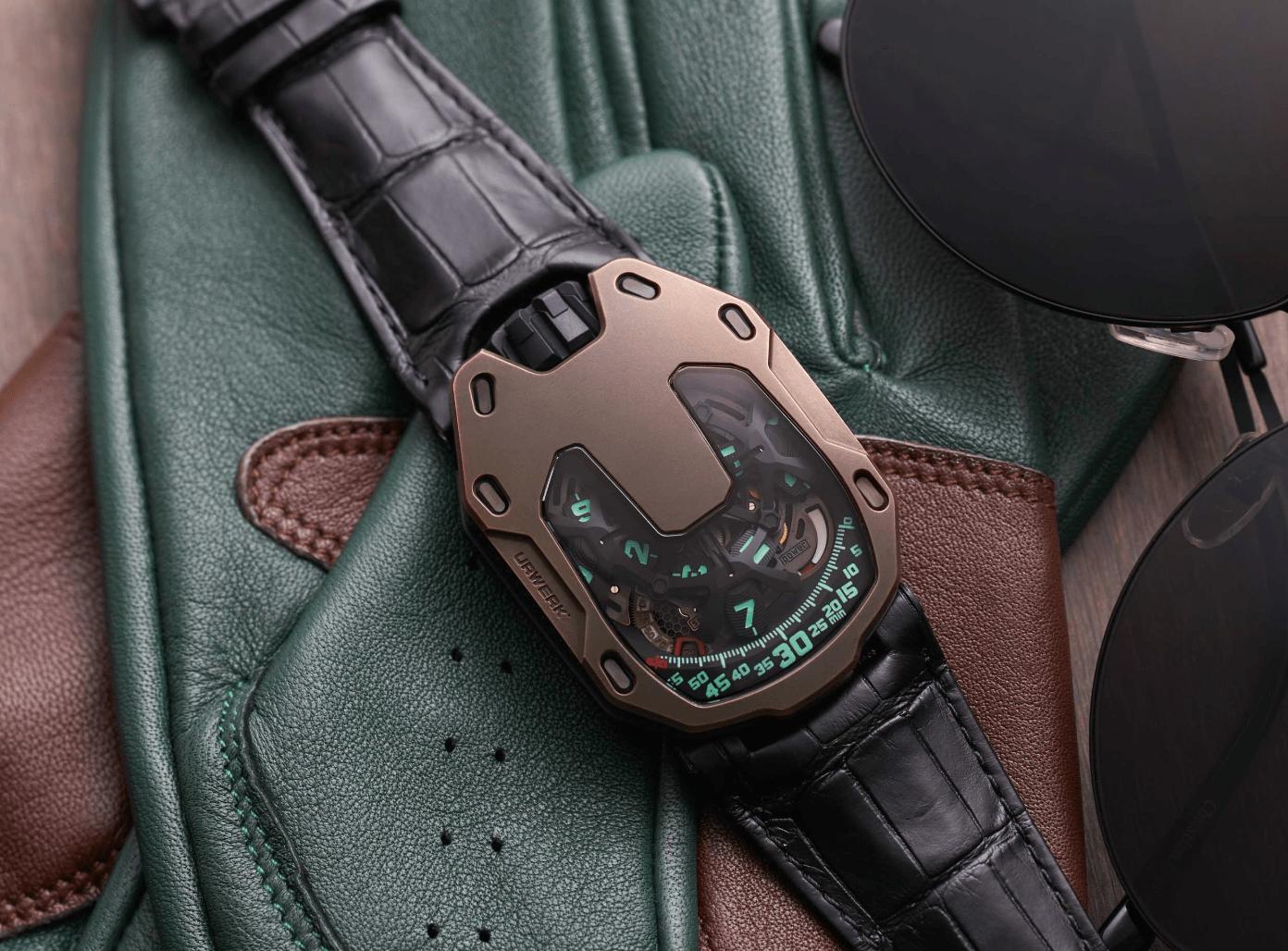 Urwerk x The Hour Glass UR-105