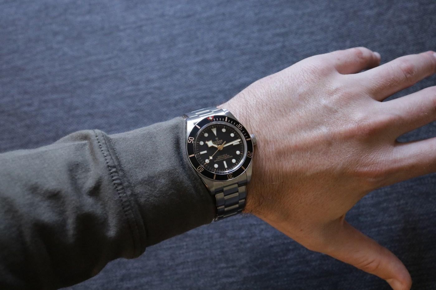 Tudor Black Bay 58 Ref. 79030N wristshot