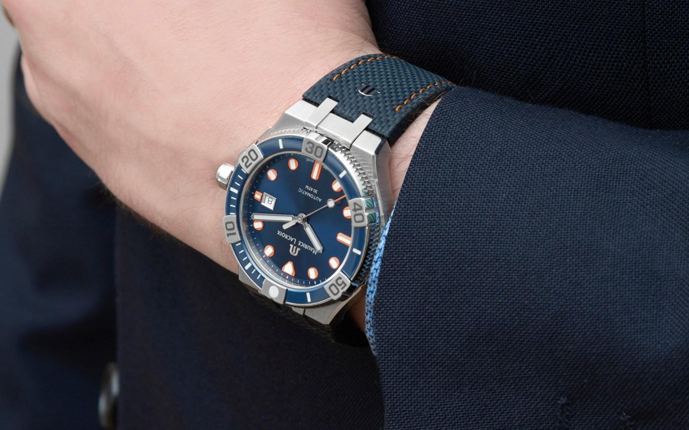 Maurice Lacroix TimeCode Venturer wristshot