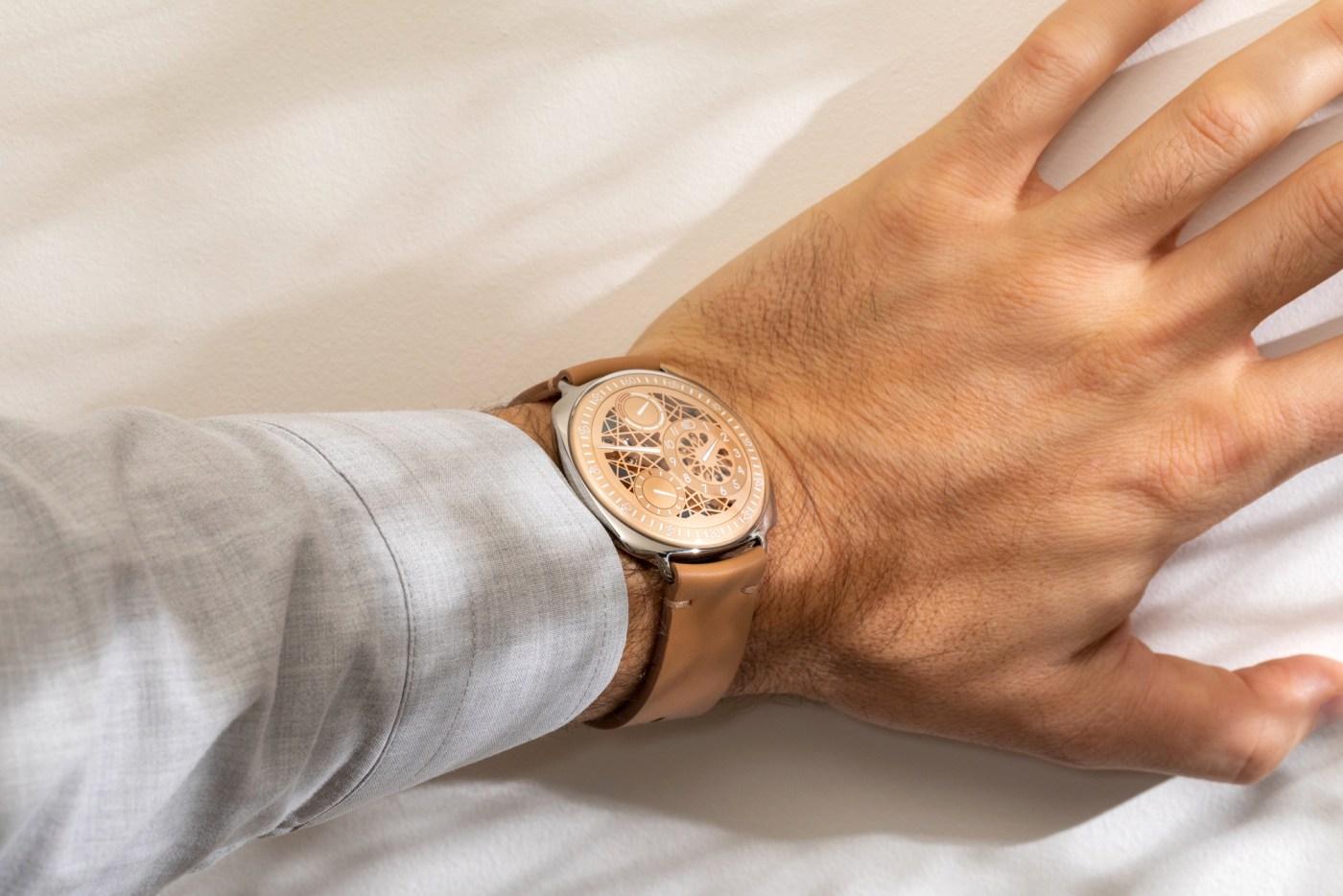 Ressence Type 1DXB wristshot
