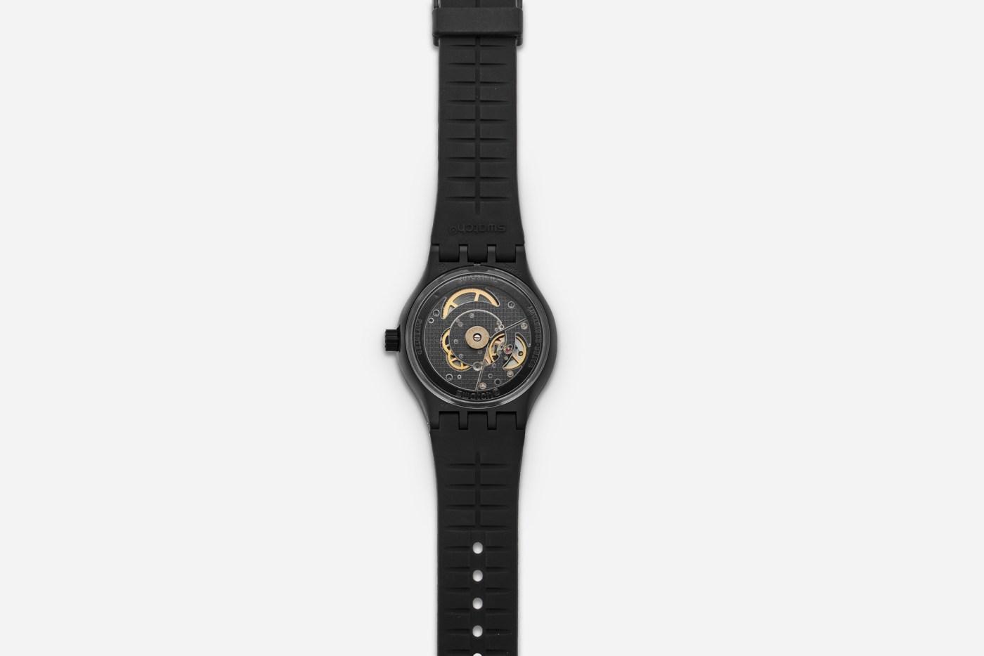 Swatch Sistem51 Hodinkee Generation 1986 caseback