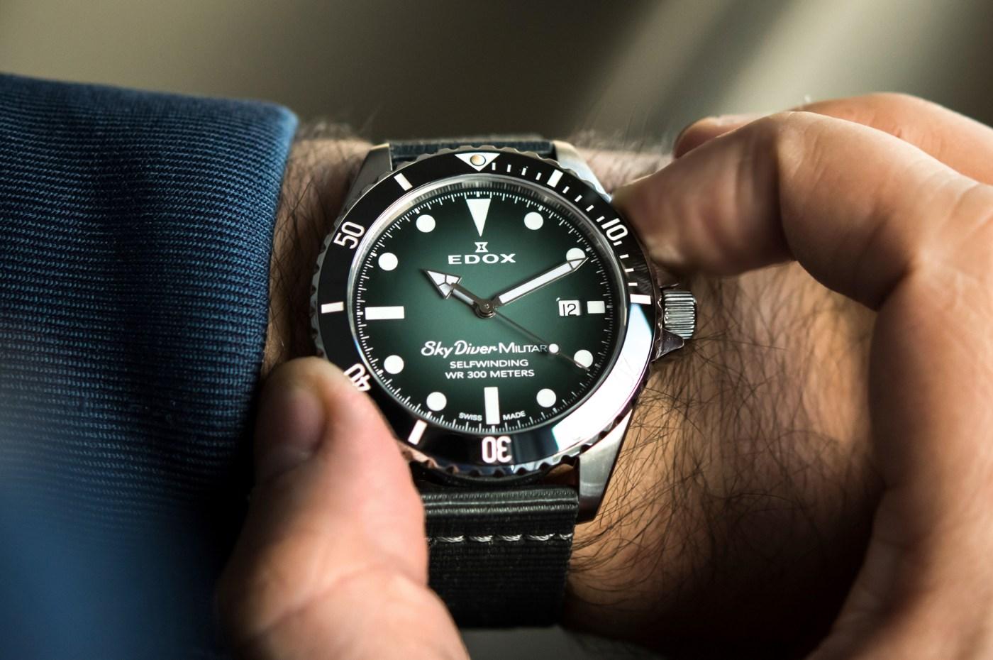 Skydiver Military Limited Edition wristshot
