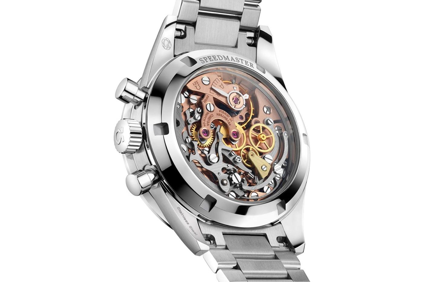 Speedmaster Moonwatch 321 Ed White 2020 caseback
