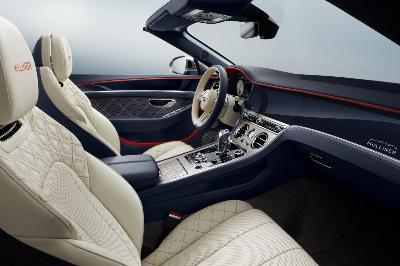 2020 Bentley Continental GT Mulliner Convertible interior