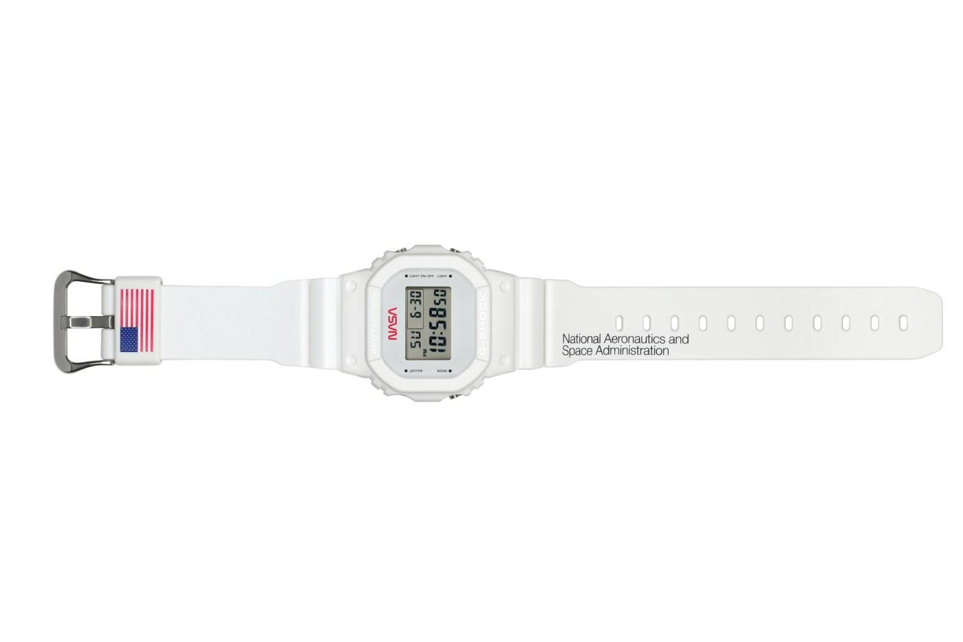 G-SHOCK X NASA DW5600