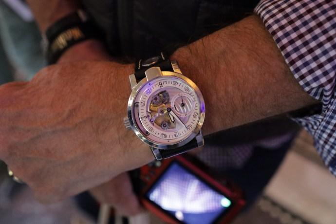 Armin Strom Gravity wristshot