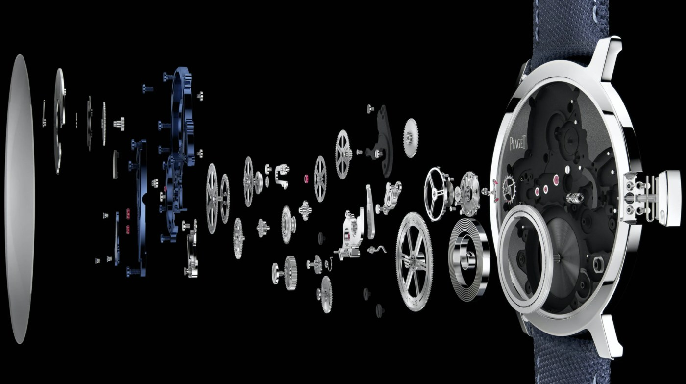 2020 Piaget Altiplano Ultimate Concept exploded movement view