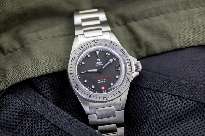 Yema Superman French Air Force Steel Limited Edition