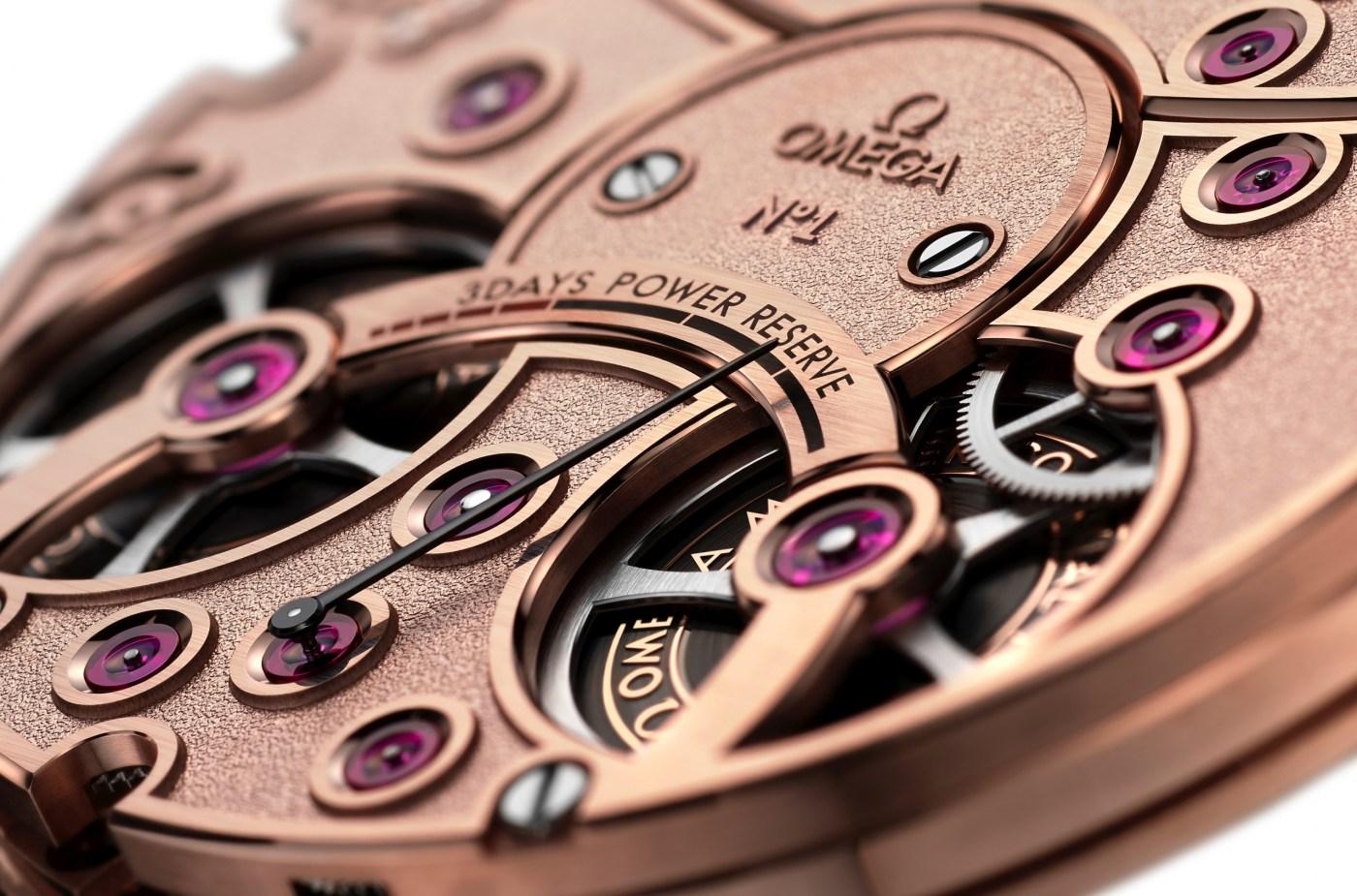Omega De Ville Tourbillon Master Chronometer Numbered Edition caseback