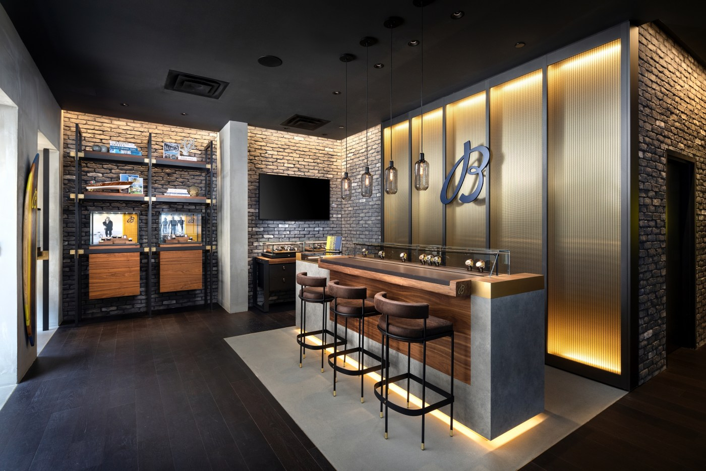 Breitling Boutique Beverly Hills interior