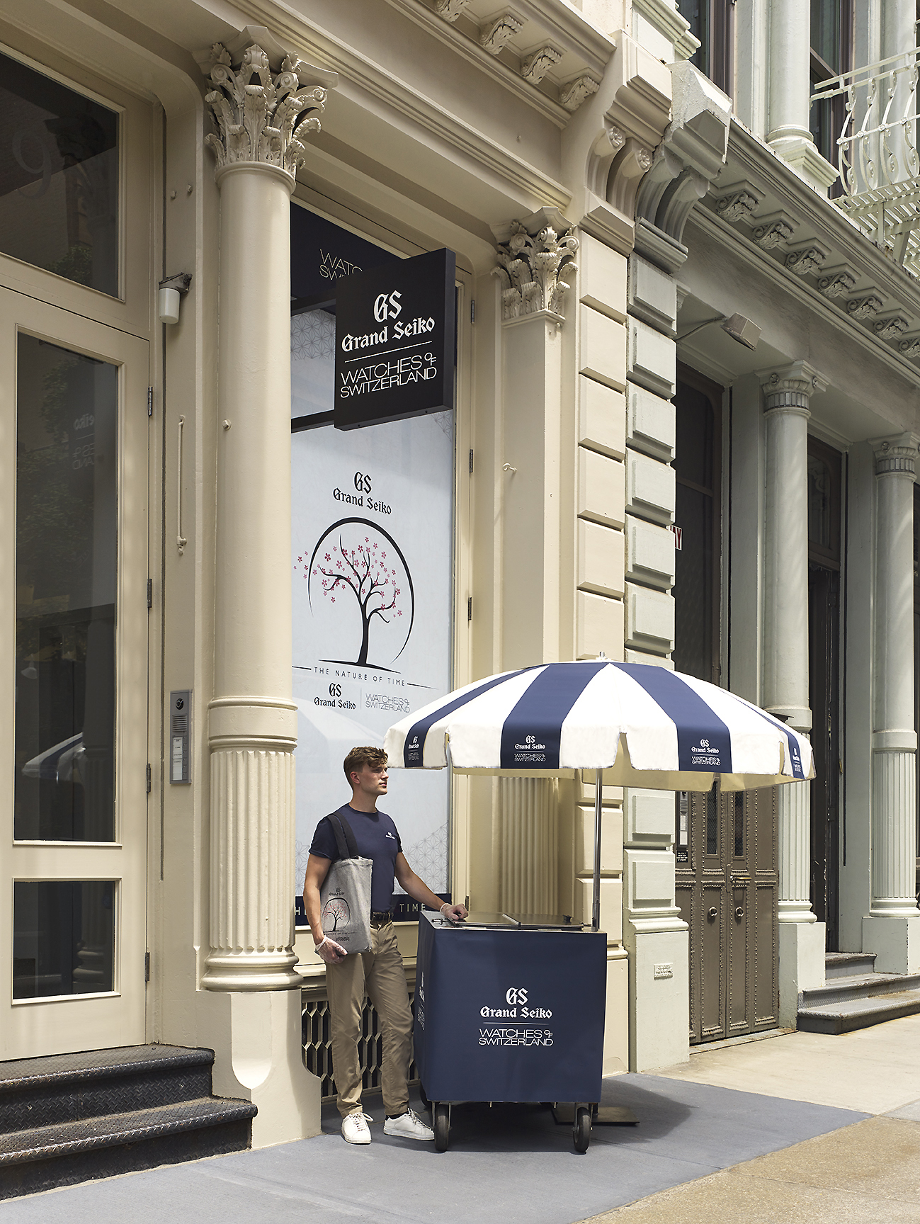 Grand Seiko SoHo 119 Spring Street Storefront
