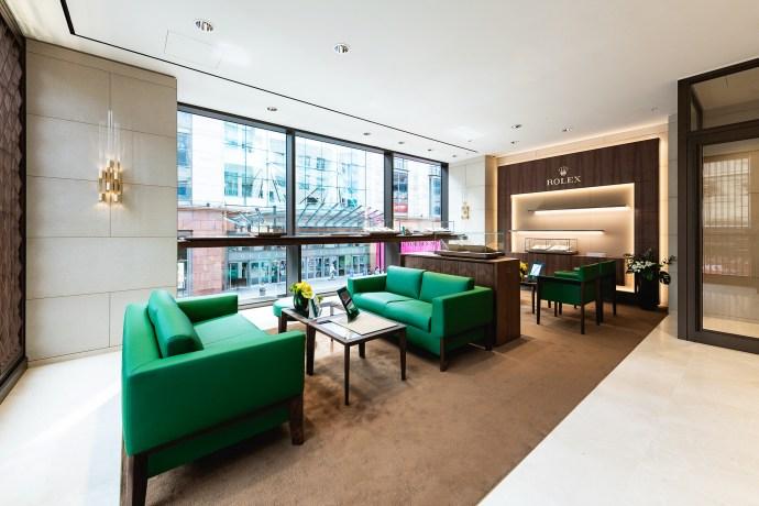 WOS Rolex Glasgow Boutique VIP Lounge