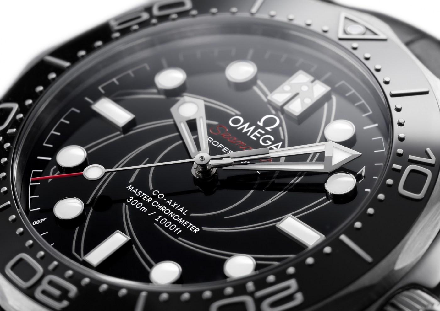 2020 Seamaster Diver 300M James Bond Platinum Gold