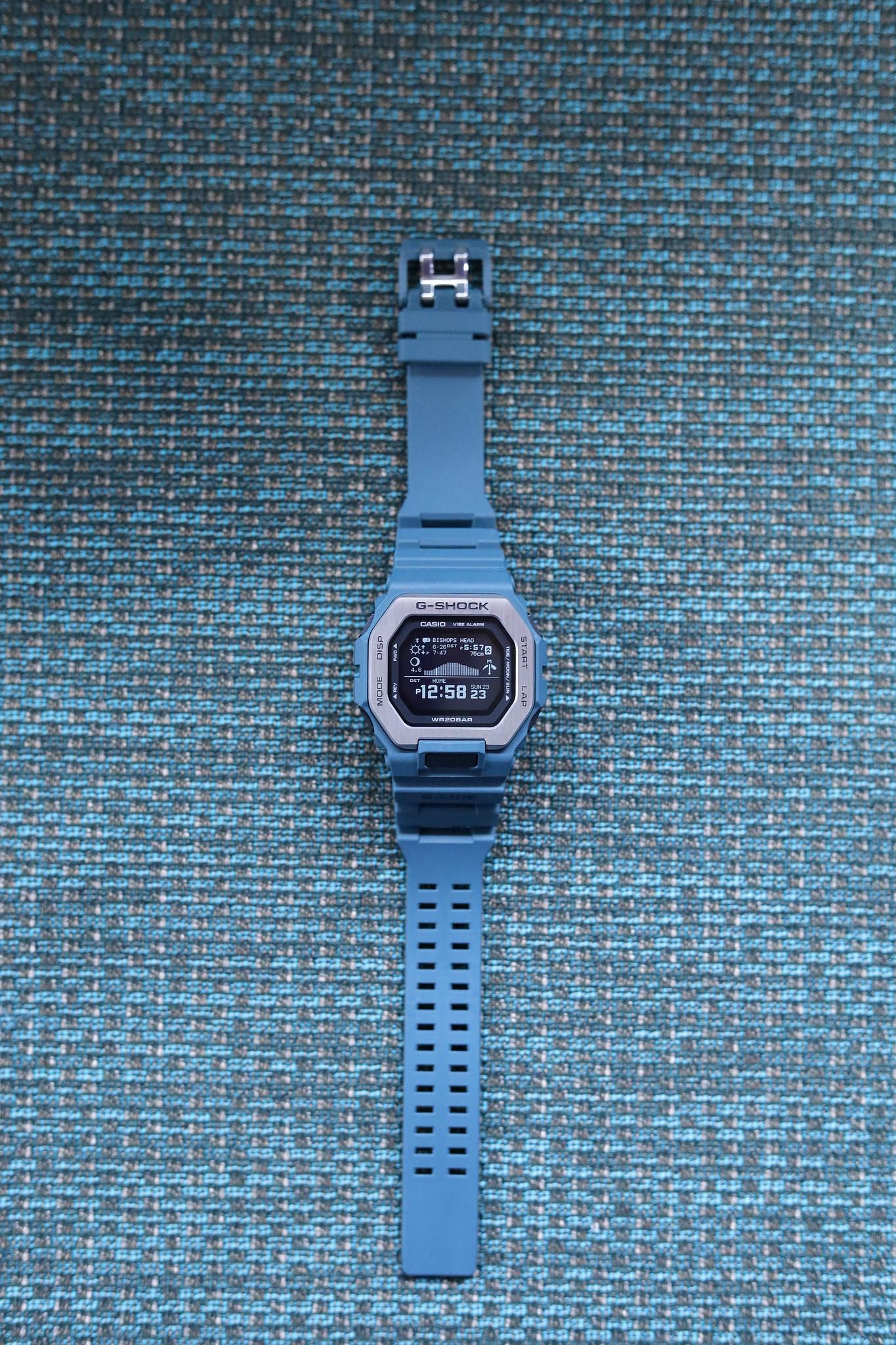 G-Shock G-Lide GBX100-2 overhead