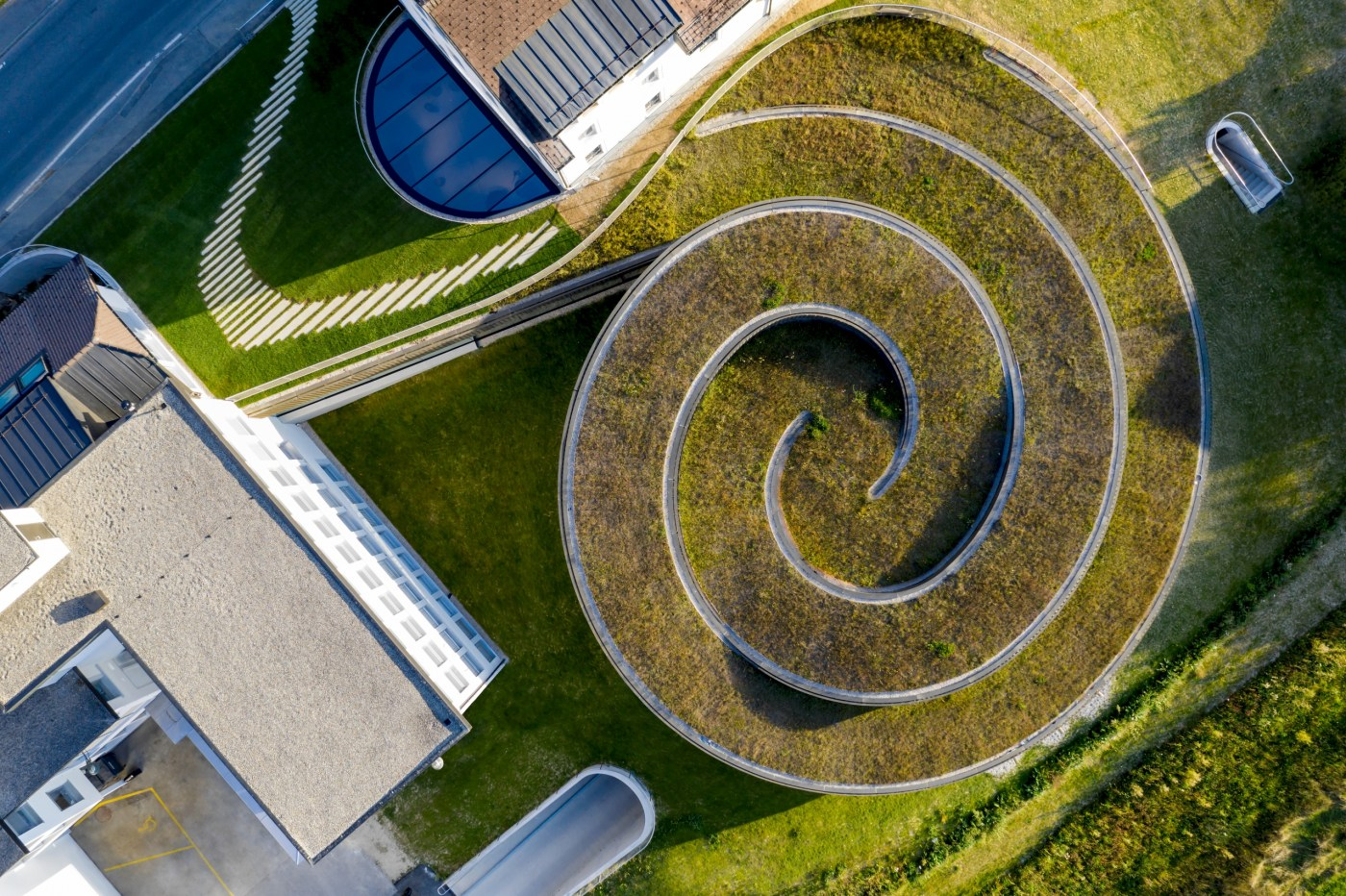 Audemars Piguet Musee Atelier Le Brassus overhead view