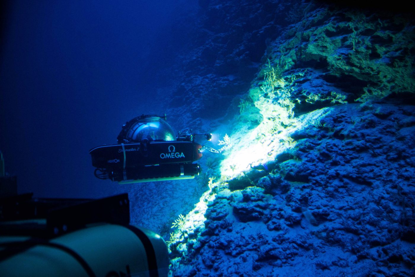 Seamaster exploring the deep