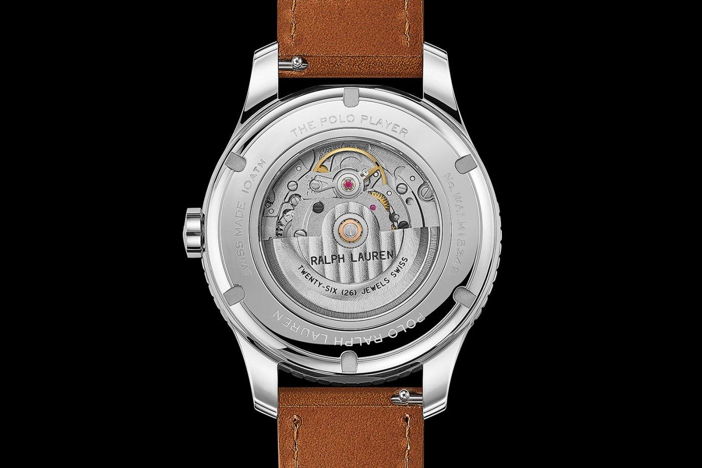 The Polo Watch 2020 caseback