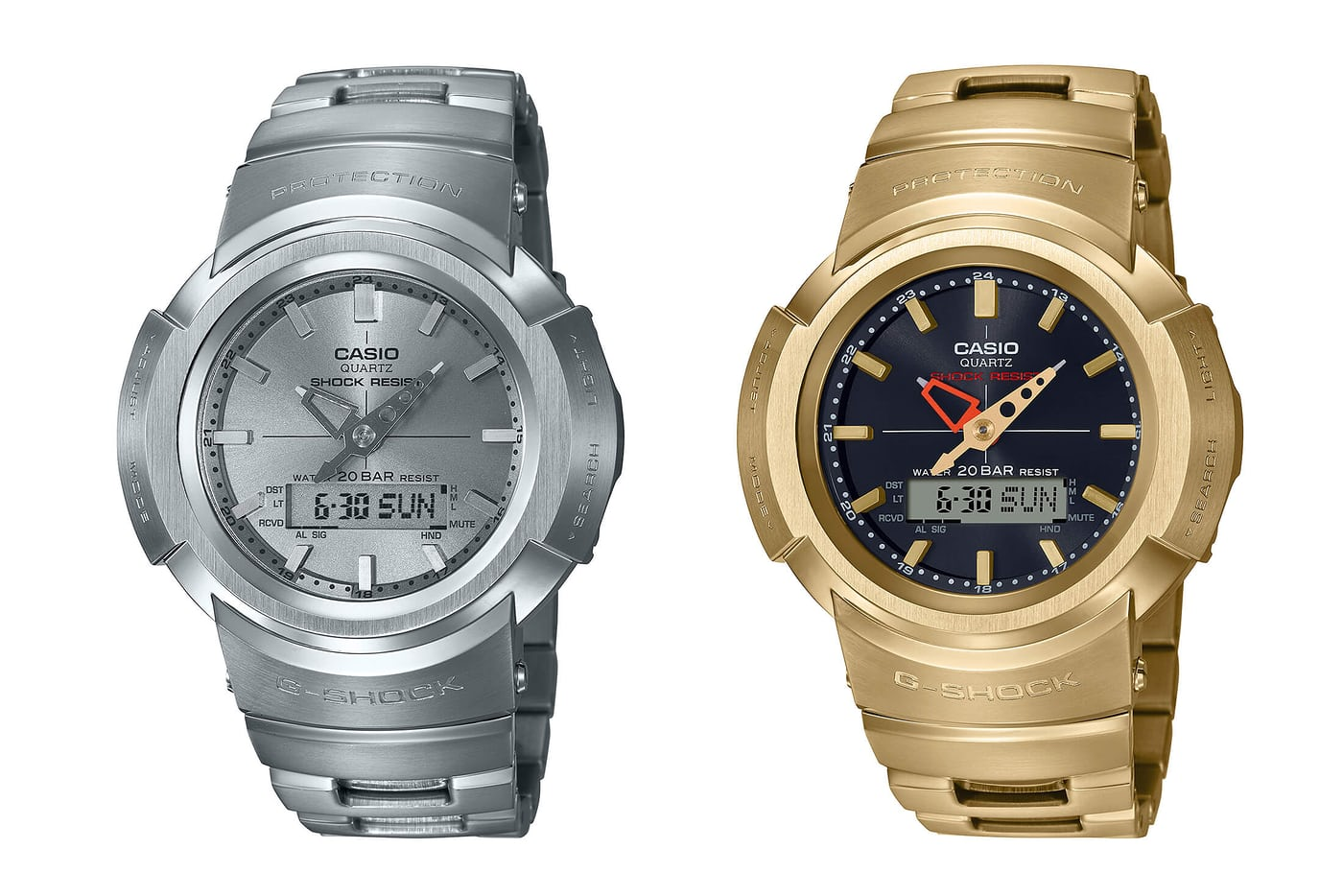 Casio G-Shock AWM 500D and 500GD