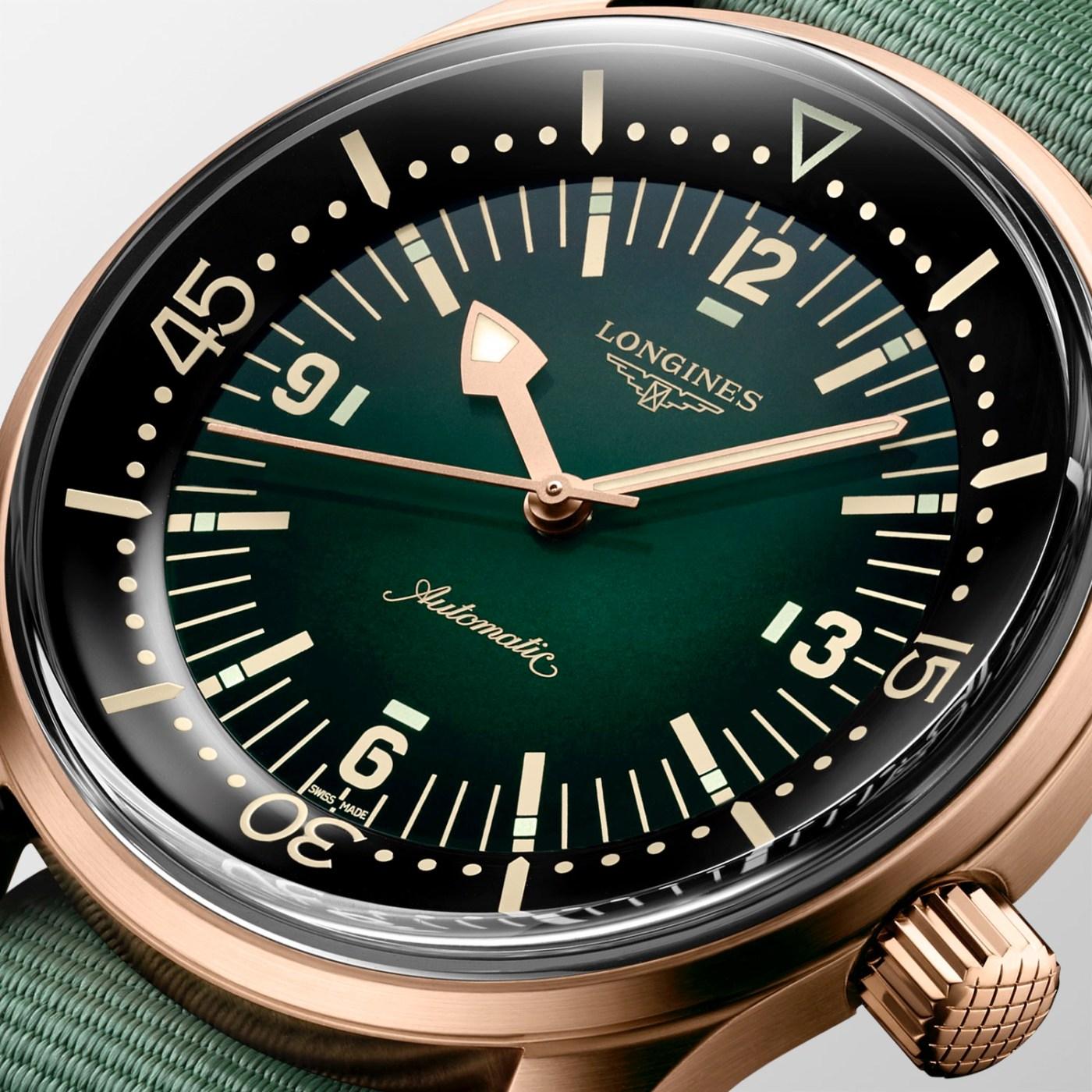 Longines Legend Diver Bronze dial