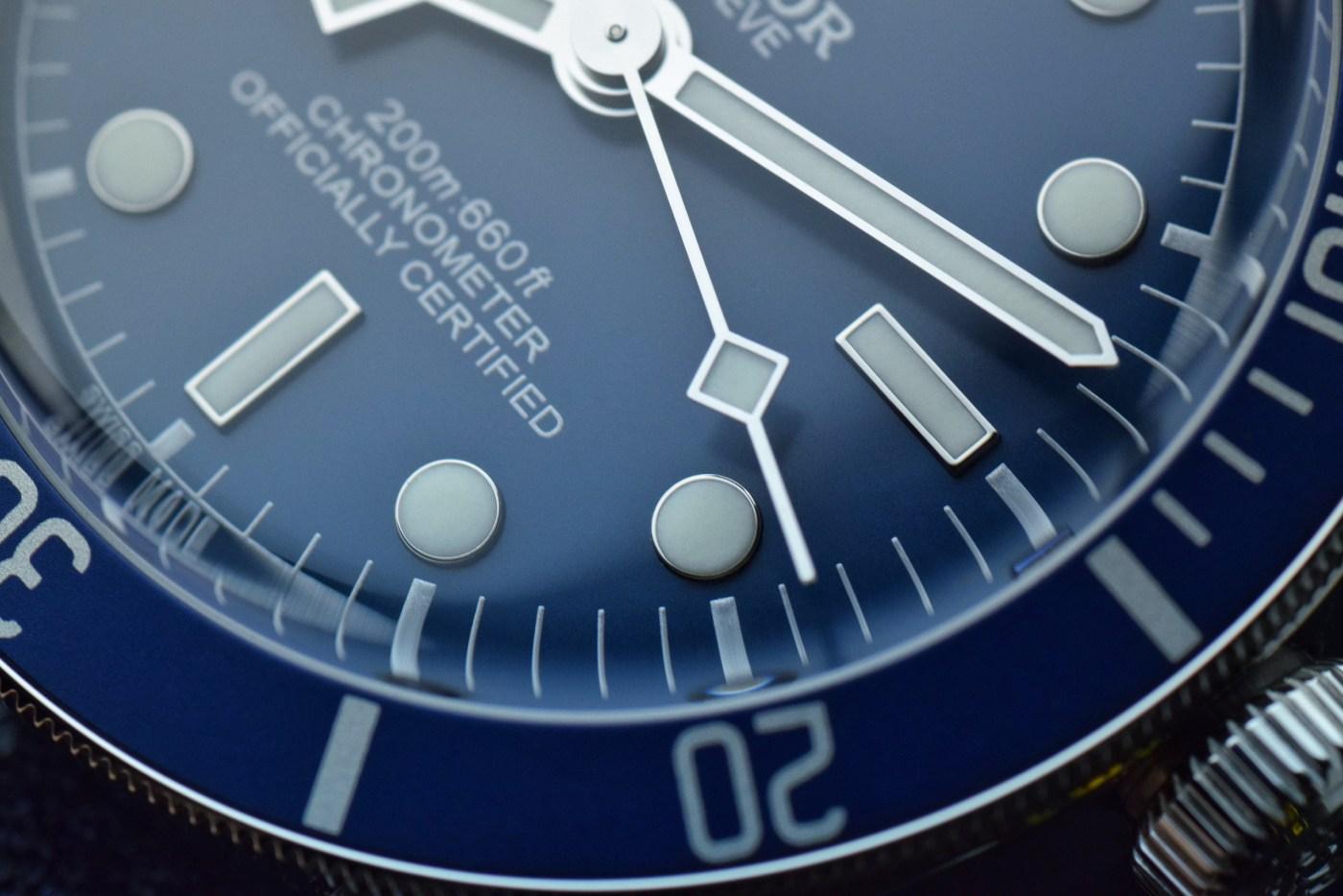 Tudor Black Bay Fifty-Eight Navy Blue Ref. 79030B dial