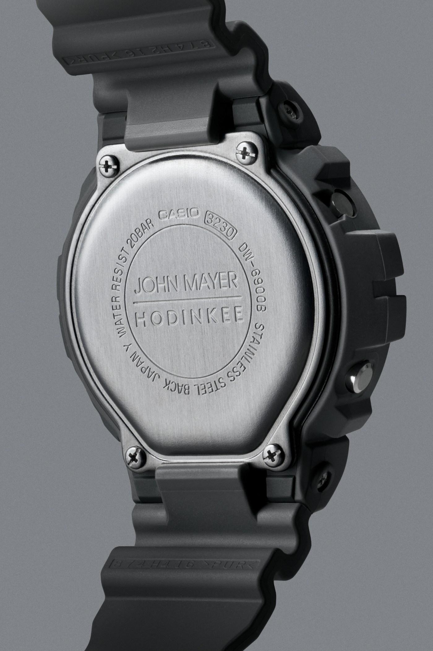 Casio G-Shock x Hodinkee Ref. 6900 John Mayer caseback
