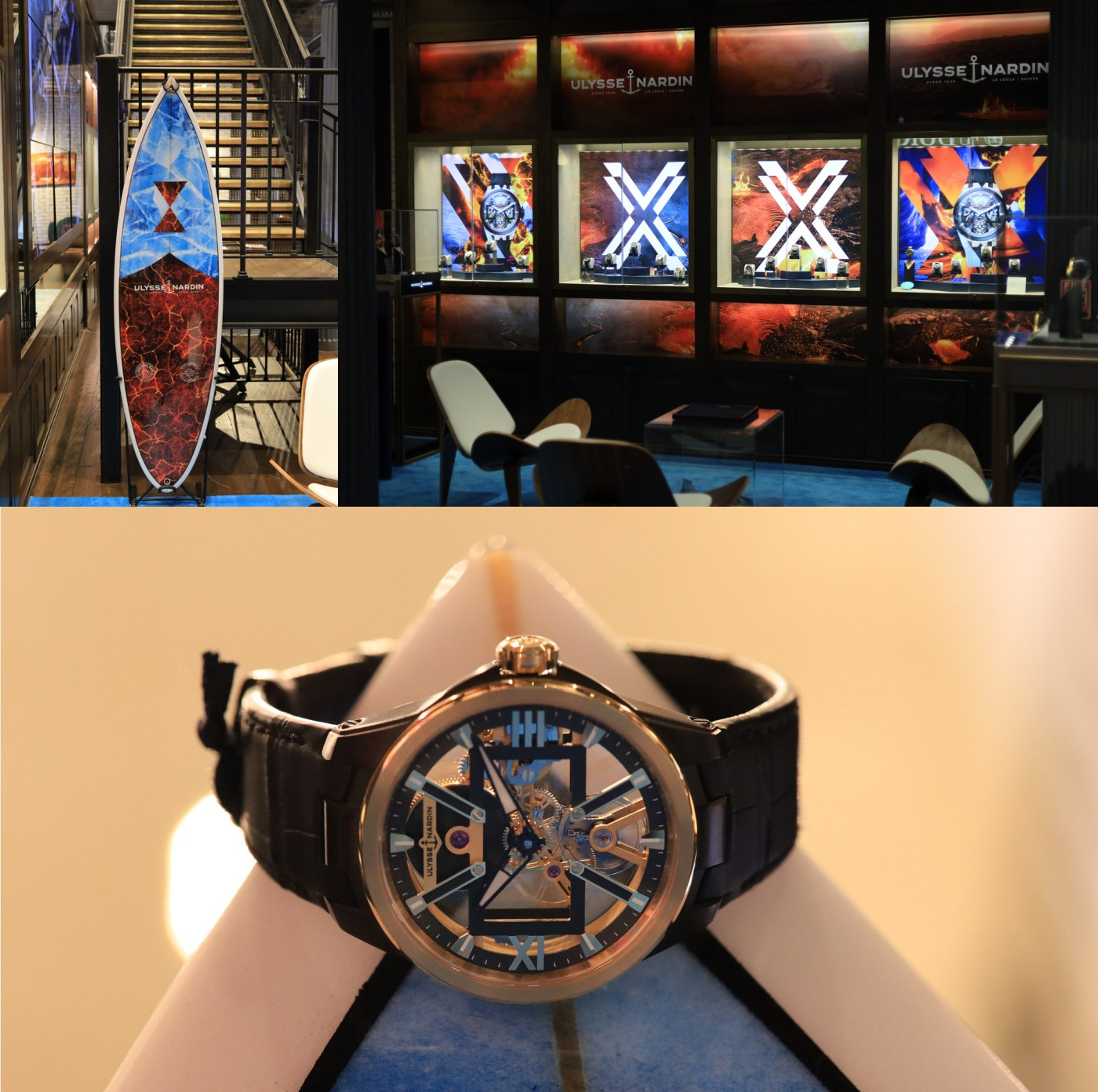 Ulysse Nardin Pop-Up at Watches of Switzerland SoHo