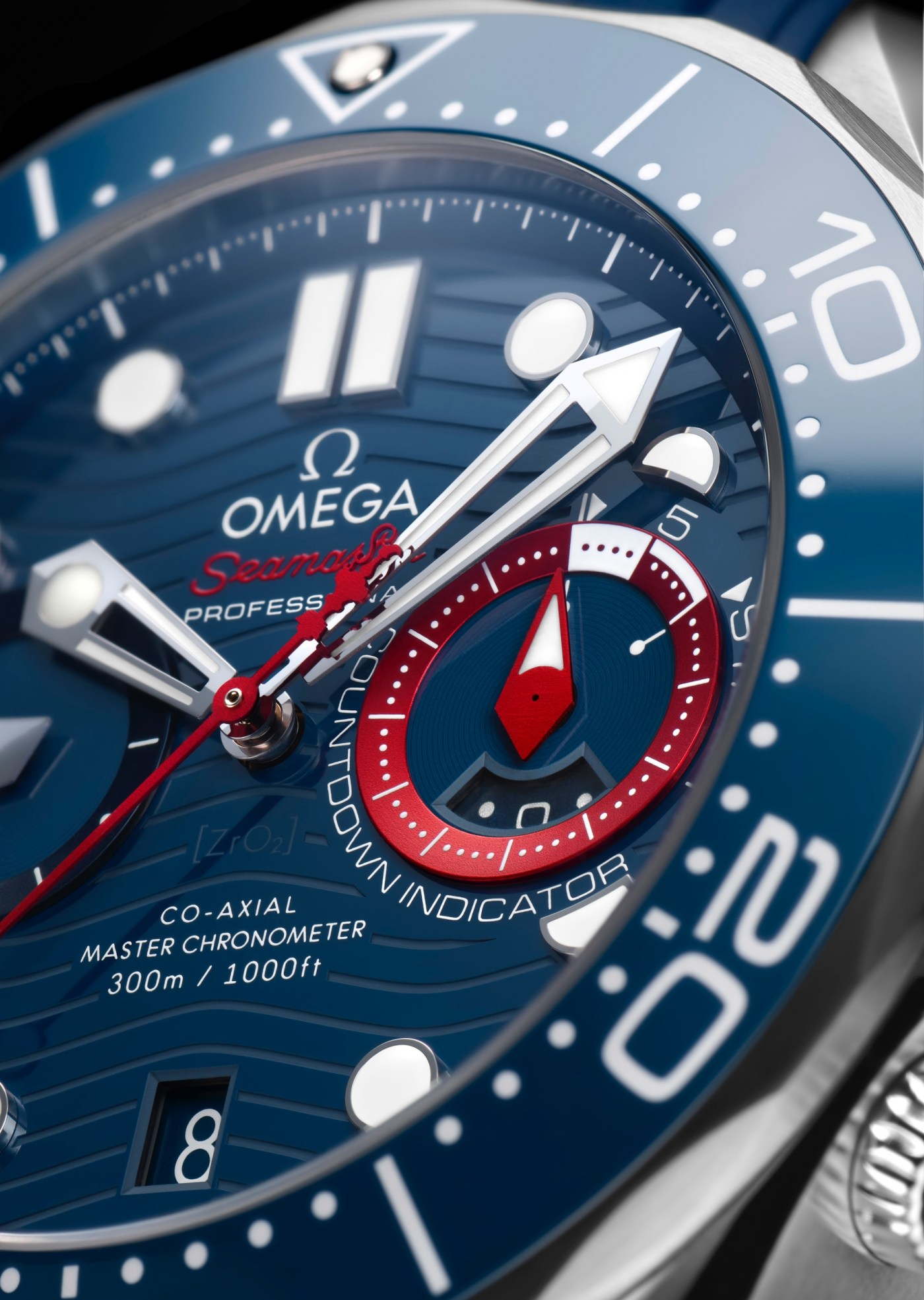 Omega Seamaster Diver 300M America's Cup Chronograph 210.30.44.51.03.002