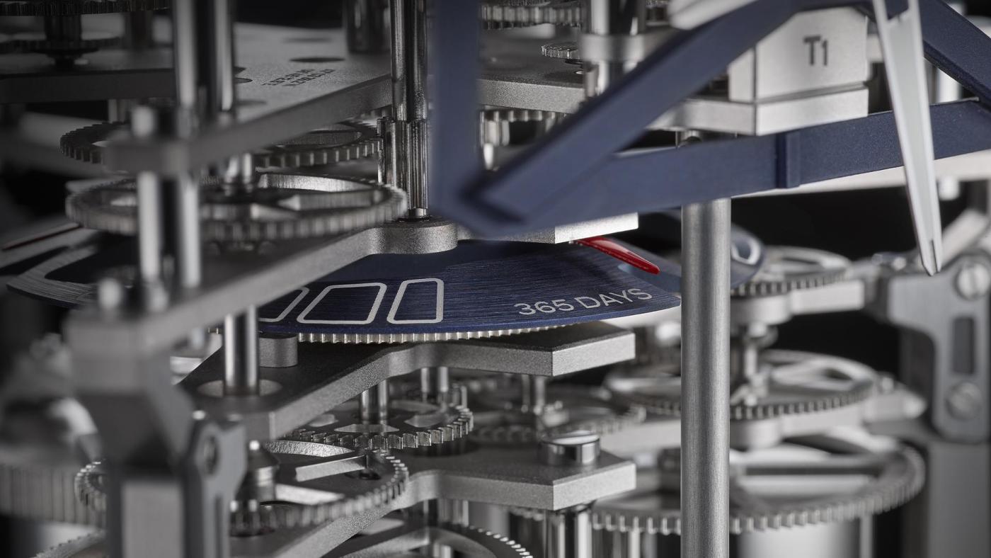 Ulysse Nardin UFO Table Clock