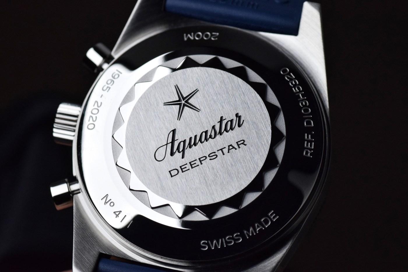 Aquastar Deepstar 2020 Re-Edition caseback