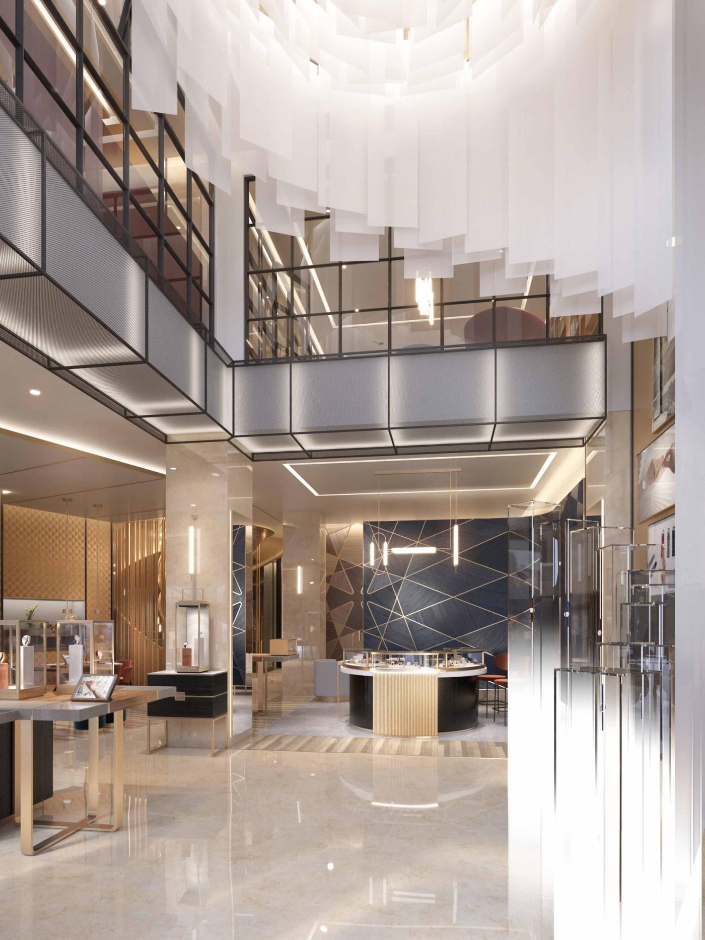 Vacheron Constantin NYC Flagship 2021 - Atrium