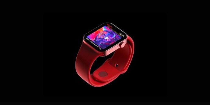 Apple Watch Series 7 rendering 2021