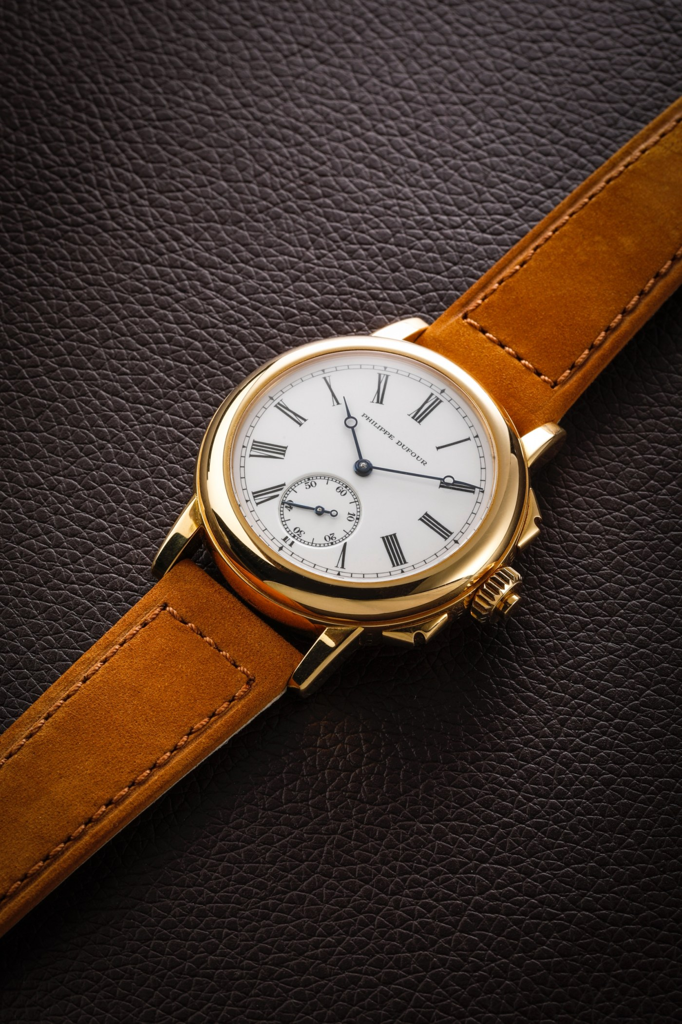 Philippe Dufour Grande and Petite Sonnerie wristwatch number 1