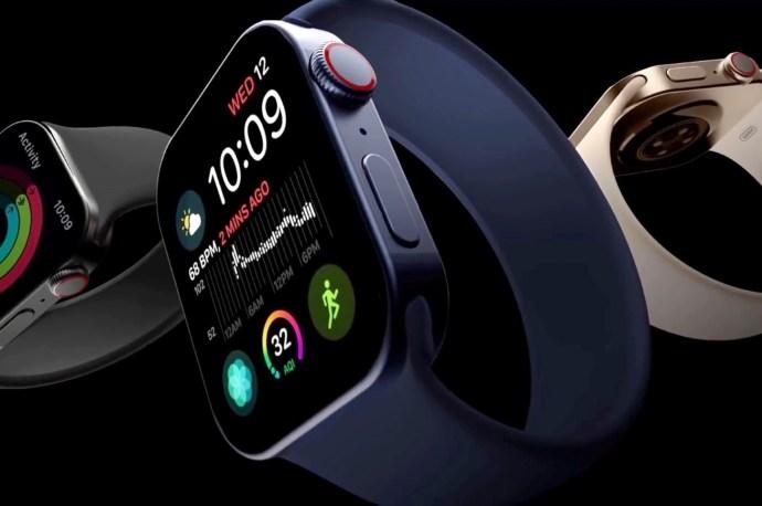 Apple Watch Series 7 rendering by Matt Talks Tech