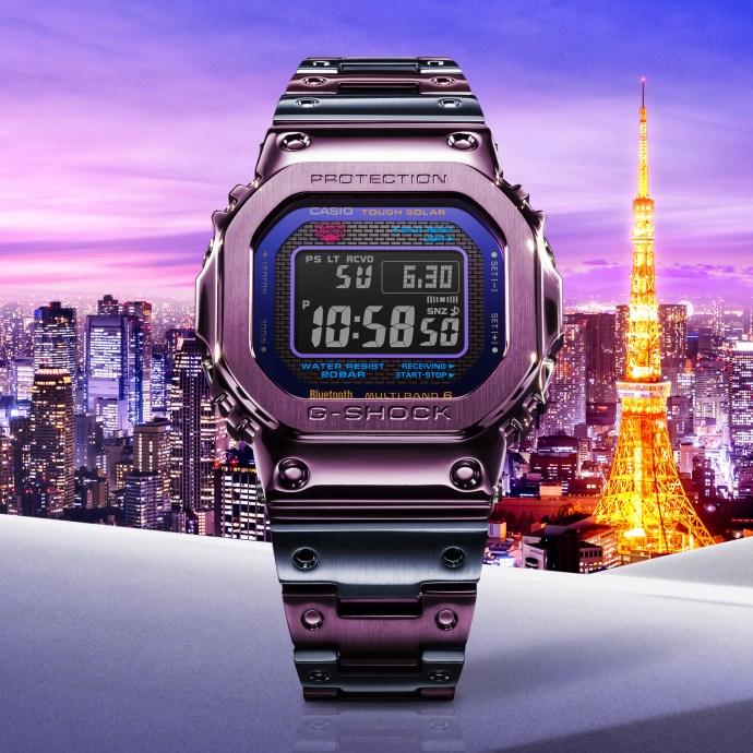 G-Shock Full Metal 5000 GMWB5000PB-6