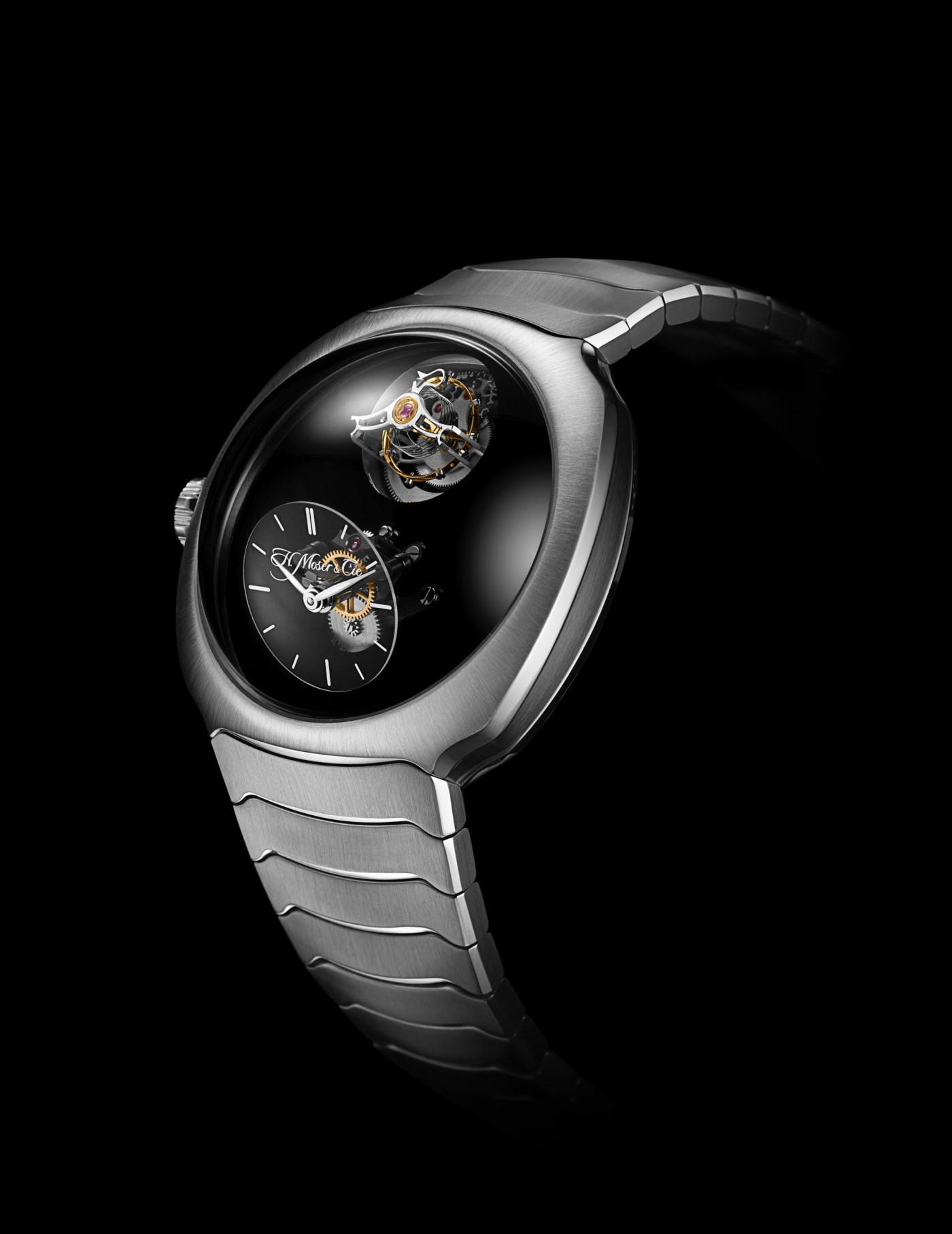 Moser Streamliner Cylindrical Tourbillon Only Watch