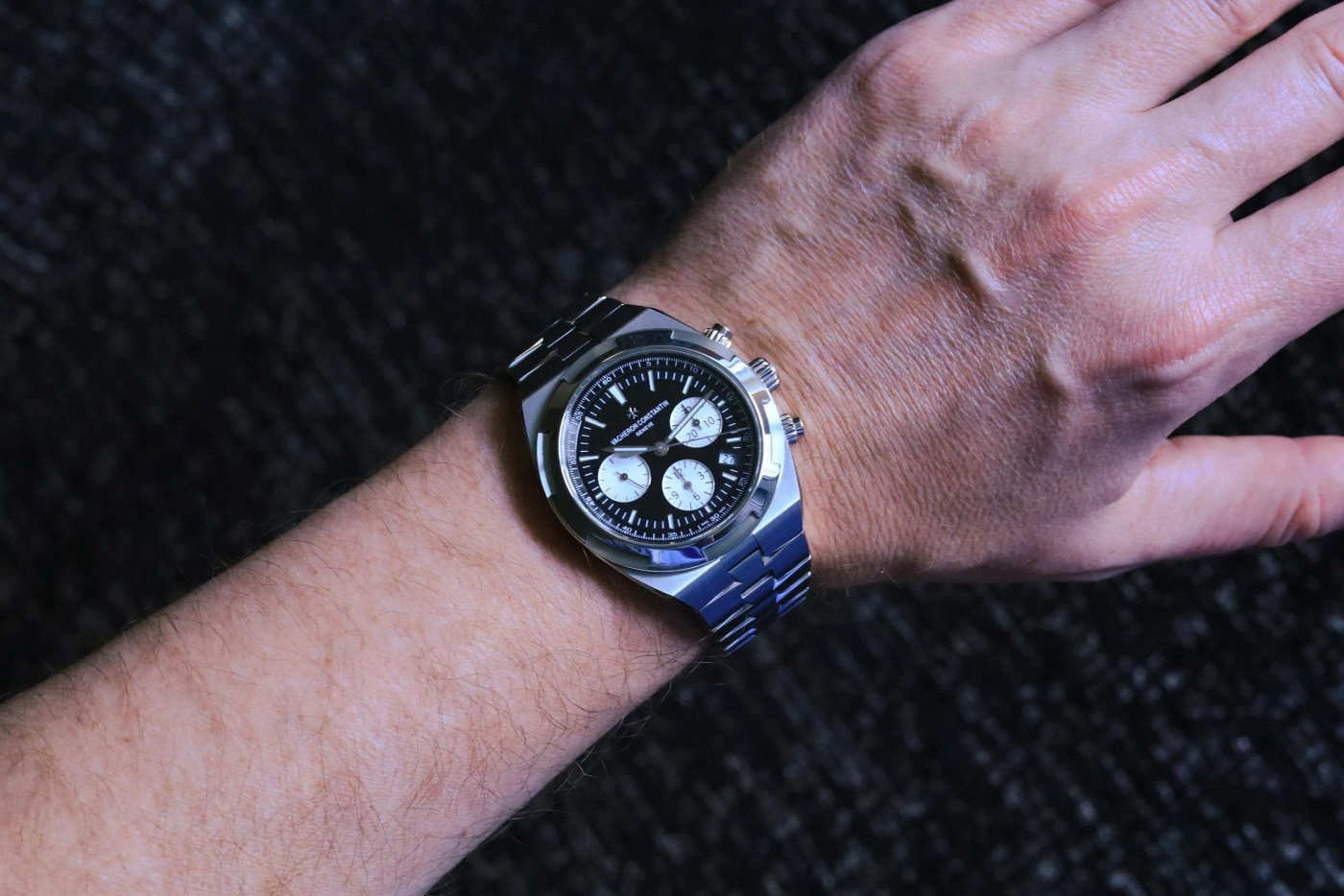 Vacheron Constantin Overseas Chronograph wristshot